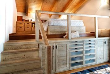 Mobili per mansarde basse design casa creativa e mobili ispiratori - Mobili per mansarde ikea ...